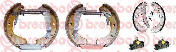 BREMBO K59020 Комплект тормозных колодок
