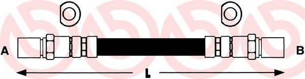 BREMBO T59042 Тормозной шланг
