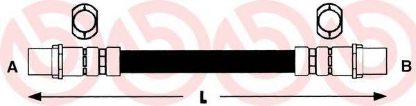 BREMBO T85067 Тормозной шланг