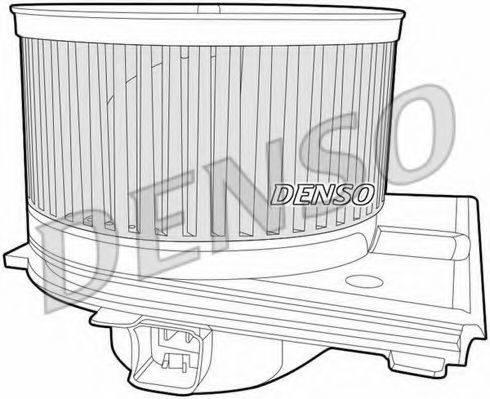 DENSO DEA02005 Вентилятор салона