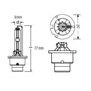 OSRAM 66240XNB Лампа накаливания, фара дальнего света; Лампа накаливания, основная фара; Лампа накаливания, основная фара; Лампа накаливания, фара дальнего света