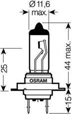 OSRAM 64210SUP Лампа накаливания, фара дальнего света; Лампа накаливания, основная фара; Лампа накаливания, противотуманная фара; Лампа накаливания, основная фара; Лампа накаливания, фара дальнего света; Лампа накаливания, противотуманная фара; Лампа накаливания, фара с авт. системой стабилизации; Лампа накаливания, фара с авт. системой стабилизации; Лампа накаливания, фара дневного освещения; Лампа накаливания, фара дневного освещения