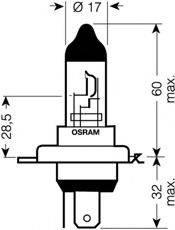 OSRAM 64193NBU01B Лампа накаливания, фара дальнего света; Лампа накаливания, основная фара; Лампа накаливания, противотуманная фара; Лампа накаливания, основная фара; Лампа накаливания, фара дальнего света; Лампа накаливания, противотуманная фара
