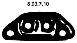 EBERSPACHER 893710 Стопорное кольцо, глушитель