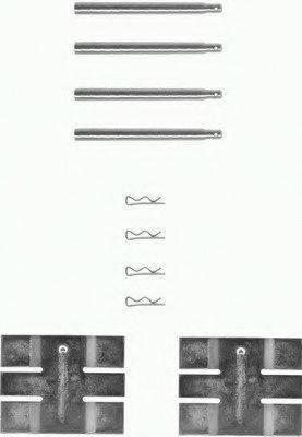 MINTEX MBA931 Комплектующие, колодки дискового тормоза