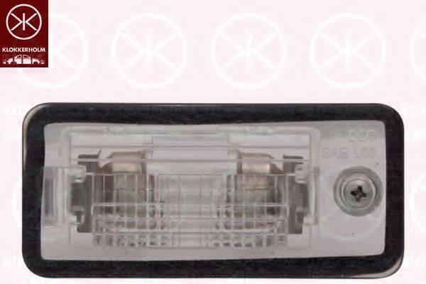 KLOKKERHOLM 00260856 Фонарь освещения номерного знака