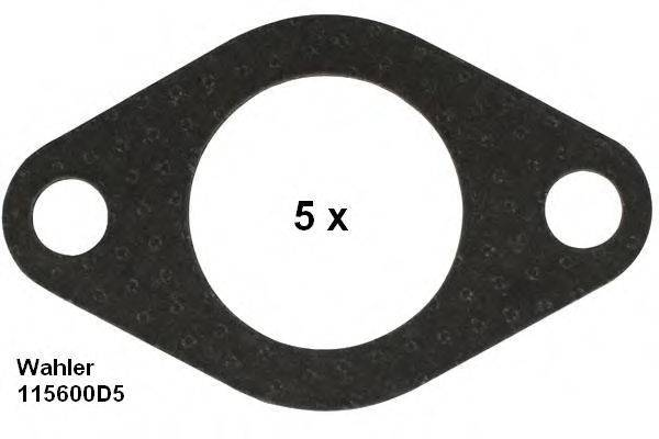 WAHLER 115600D5 Прокладка, трубка клапана возврата ОГ