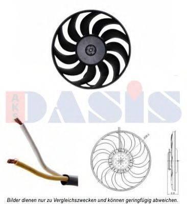 AKS DASIS 048054N Вентилятор, охлаждение двигателя
