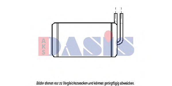 AKS DASIS 159140N Теплообменник, отопление салона