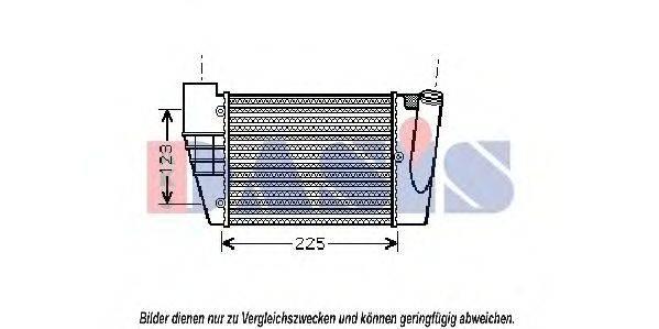 AKS DASIS 487019N Интеркулер