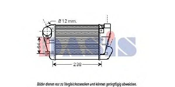 AKS DASIS 487023N Интеркулер