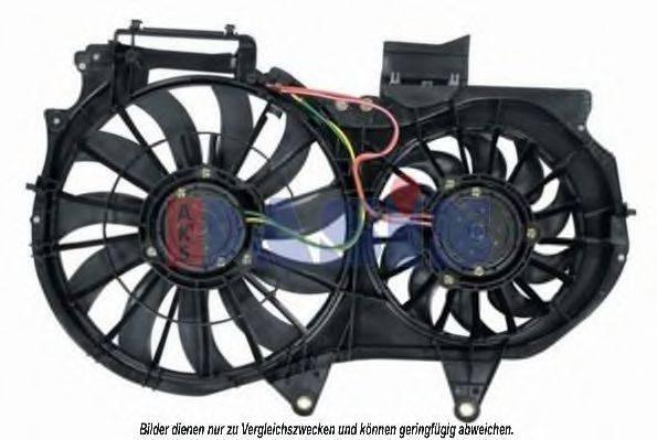 AKS DASIS 488012N Вентилятор, охлаждение двигателя
