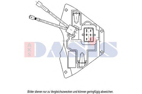 AKS DASIS 700006N Регулятор, вентилятор салона
