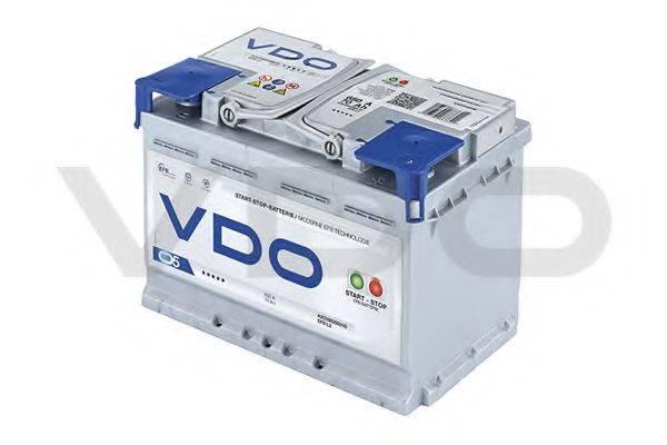 VDO A2C59520001E Стартерная аккумуляторная батарея; Стартерная аккумуляторная батарея