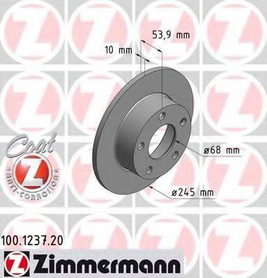 ZIMMERMANN 100123720 Тормозной диск
