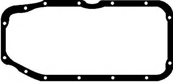 GLASER X0820401 Прокладка, маслянный поддон