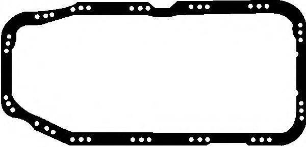 GLASER X5412001 Прокладка, маслянный поддон