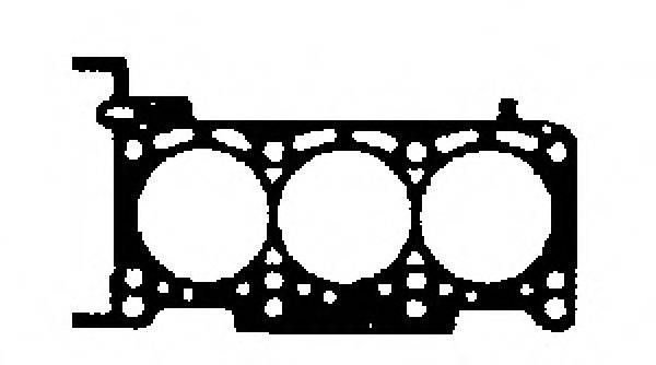 GLASER H0184200 Прокладка, головка цилиндра