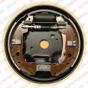 DELPHI LG16044 Комплект тормозных колодок