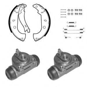 DELPHI 1046 Комплект тормозных колодок