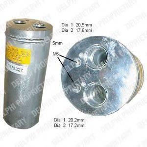 DELPHI TSP0175327 Осушитель, кондиционер