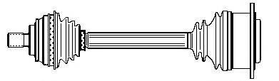 FARCOM 122209 Приводной вал