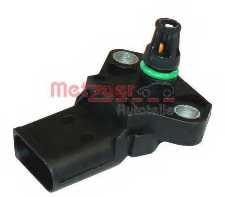 METZGER 0906061 Датчик, давление наддува; Датчик, температура впускаемого воздуха; Датчик, давление наддува; Датчик, давление во впускном газопроводе