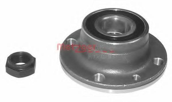 METZGER WM736 Комплект подшипника ступицы колеса