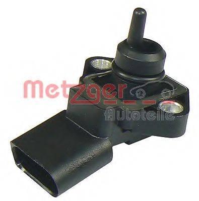 METZGER 0906091 Датчик, давление наддува; Датчик, давление наддува; Датчик, давление во впускном газопроводе