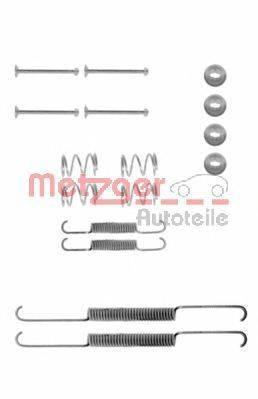 METZGER 1050507 Комплектующие, тормозная колодка