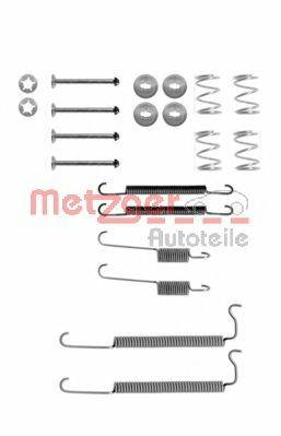 METZGER 1050629 Комплектующие, тормозная колодка