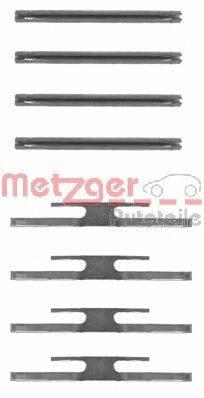 METZGER 1091065 Комплектующие, колодки дискового тормоза