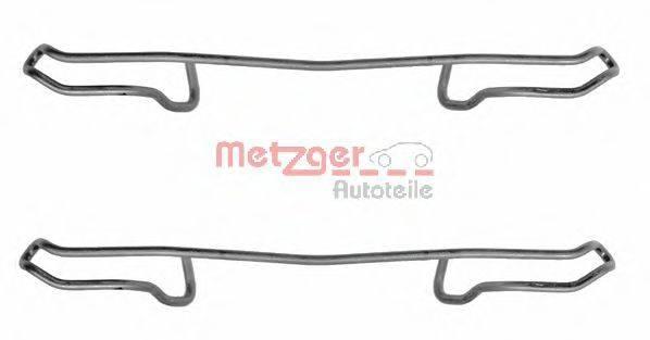 METZGER 1091100 Комплектующие, колодки дискового тормоза