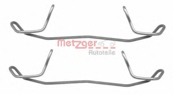 METZGER 1091123 Комплектующие, колодки дискового тормоза