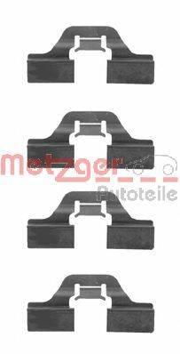 METZGER 1091211 Комплектующие, колодки дискового тормоза