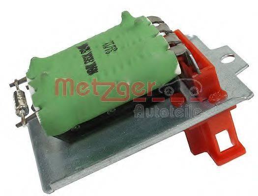 METZGER 0917031 Сопротивление, вентилятор салона