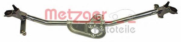 METZGER 2190178 Система тяг и рычагов привода стеклоочистителя