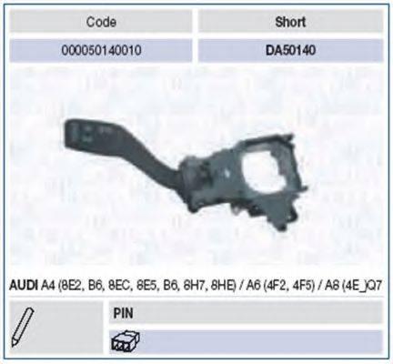 MAGNETI MARELLI 000050140010 Выключатель на колонке рулевого управления