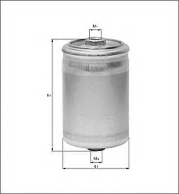 MAGNETI MARELLI 154087415630 Топливный фильтр