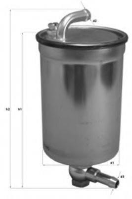 MAGNETI MARELLI 154703837710 Топливный фильтр