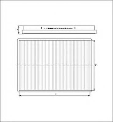 MAGNETI MARELLI 154064174480 Фильтр, воздух во внутренном пространстве