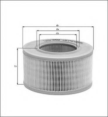 MAGNETI MARELLI 154077182810 Воздушный фильтр