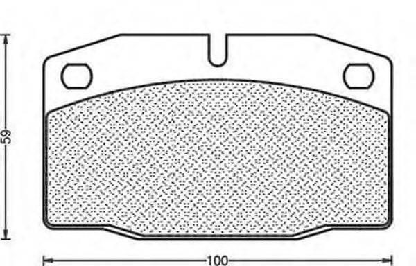 MAGNETI MARELLI 430216170015 Комплект тормозных колодок, дисковый тормоз